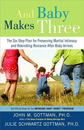 9781400097388: And Baby Makes Three: The Six-Step Plan for Preserving Marital Intimacy and Rekindling Romance After Baby Arrives