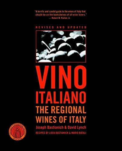 9781400097746: Vino Italiano: The Regional Wines of Italy
