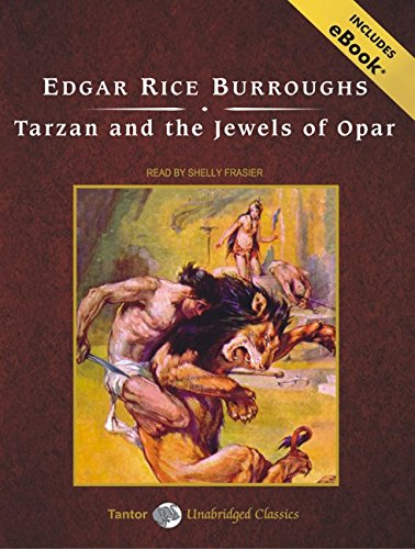 9781400111176: Tarzan and the Jewels of Opar, with eBook