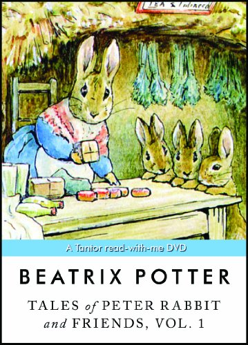 9781400120376: Tales of Peter Rabbit and Friends, Vol. 1: A Tantor read-with-me DVD