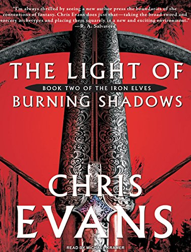 The Light of Burning Shadows (Compact Disc): Chris Evans