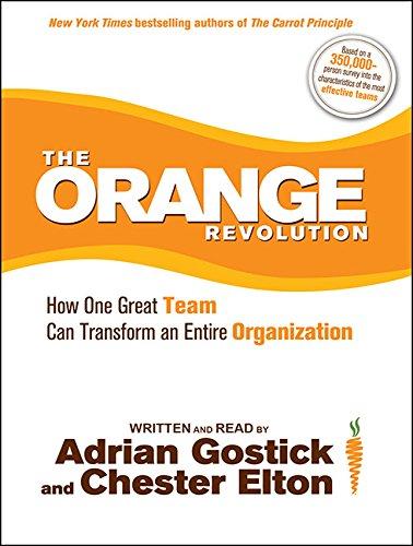 The Orange Revolution: How One Great Team Can Transform an Entire Organization: Adrian Gostick, ...