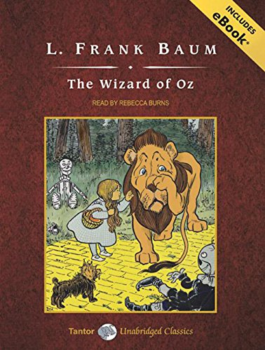 9781400158904: The Wizard of Oz, with eBook (Tantor Unabridged Classics)