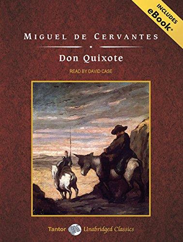 9781400159017: Don Quixote, with eBook (Tantor Unabridged Classics)