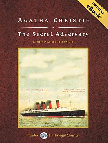 9781400159215: The Secret Adversary, with eBook (Tantor Unabridged Classics)