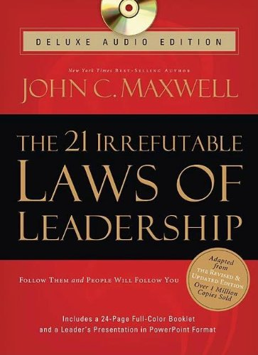 9781400202027: The 21 Irrefutable Laws of Leadership Deluxe Audio Edition: Follow Them and People Will Follow You