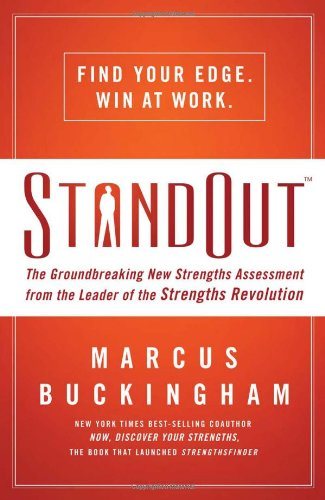 9781400202379: StandOut: The Groundbreaking New Strengths Assessment from the Leader of the Strengths Revolution