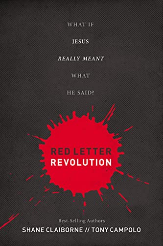 9781400204182: Red Letter Revolution: What If Jesus Really Meant What He Said?