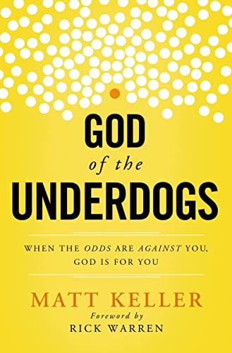 9781400204960: God of the Underdogs: When the Odds Are Against You, God Is for You
