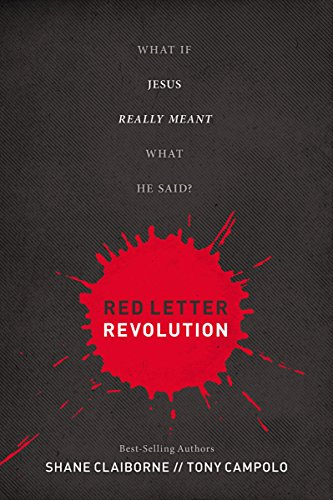 9781400275076: Red Letter Revolution-International Edition: What If Jesus Really Meant What He Said?