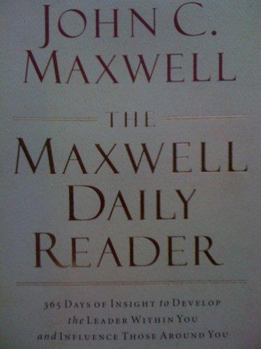 9781400280018: Maxwell Daily Reader