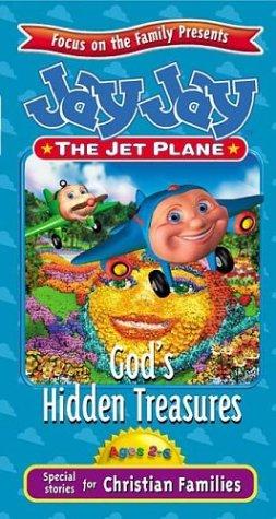 9781400300389: Jay Jay the Jet Plane God's Hidden Treasures [VHS]