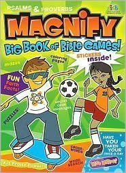 9781400300600: Magnify Big Book of Bible Games!: Psalms & Proverbs for Kids!