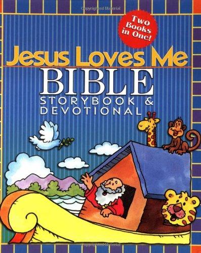9781400301850: Jesus Loves Me Bible Storybook & Devotional