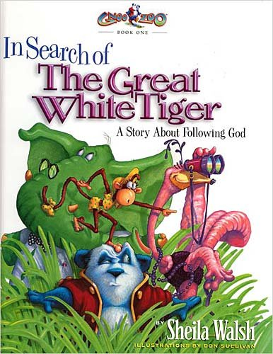 9781400302475: In Search of the Great White Tiger: A Story About Following God (Gnoo Zoo Book 1)