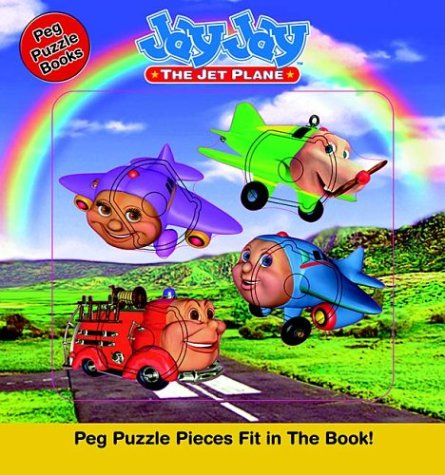 9781400303304: Jay Jay The Jet Plane Peg Puzzel Book ( Board Book)