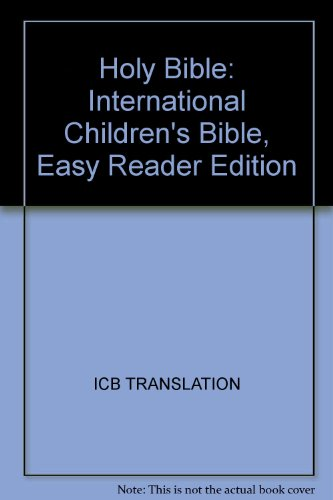 9781400306206: Holy Bible: International Children's Bible, Easy Reader Edition