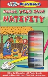 Tommy Nelson's PlayPaks: Make Your Own Nativity