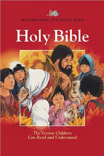 9781400310852: Holy Bible: International Children's Bible Red, Economy Edition