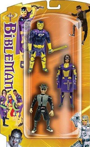 9781400311118: Bibleman, Biblegirl, and the Cheater: Action Figure 3 Pack Collection (Bibleman Powersource)