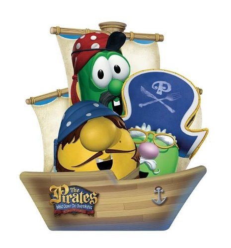 The Pirates Who Don't Do Anything-A VeggieTales Movie: Books in a Boat: Big Idea Inc.