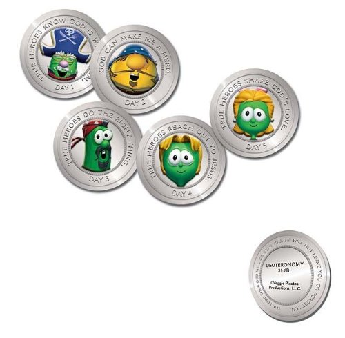 9781400312375: The Pirates Who Don't Do Anything: A VeggieTales Vbs: Bible Memory Verse Doubloons
