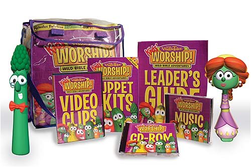 VeggieTales Kids' Worship! Unit 2 - Wild Bible Adventures: For Children's Church or ...