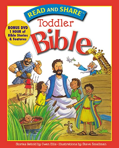 Read And Share Toddler Bible w/DVD
