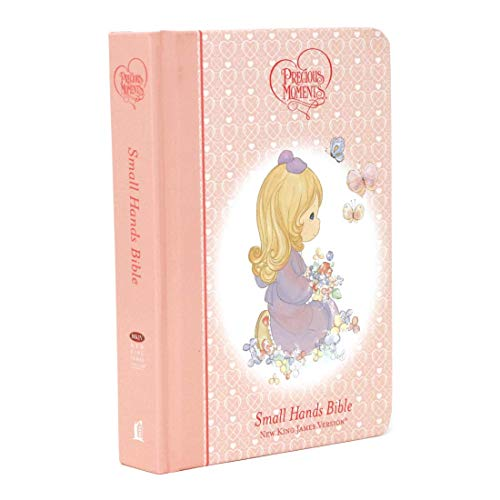 PRECIOUS MOMENTS HOLY BIBLE - PINK NKJV Format: Hardcover