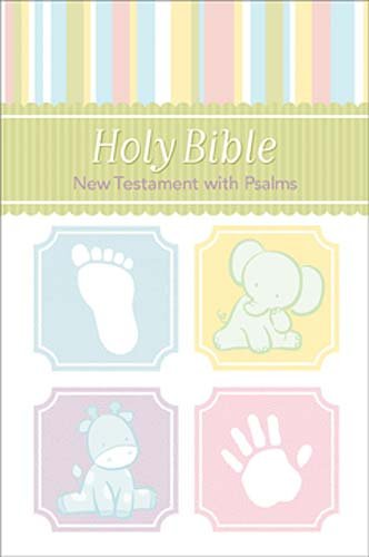 9781400316977: Holy Bible: New Testament With Psalms, King James Version, Children/Baby, Pink, Red Letter Edition