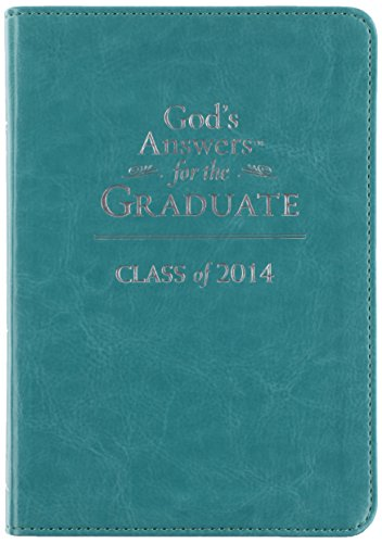 9781400322855: God's Answers for the Graduate: Class of 2014, Teal, New King James Version