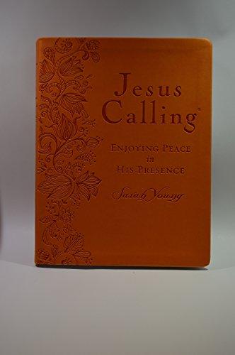 9781400379309: Jesus Calling (Deluxe) Large Print - Orange Leathersoft
