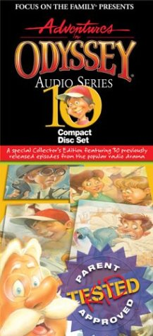 9781400393244: Adventures In Odyssey 10 Pack Cd Collection