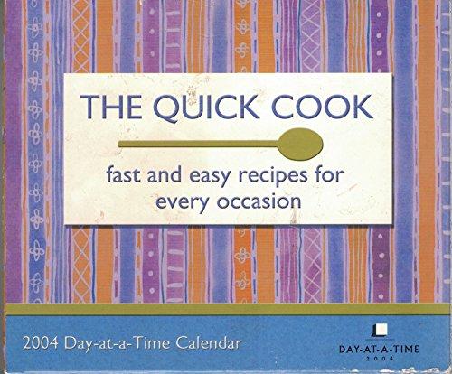 9781400902460: The Quick Cook 2004 Calendar