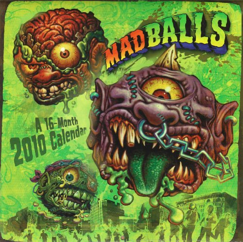 9781400917570: Madballs 2010 Calendar (Multilingual Edition)
