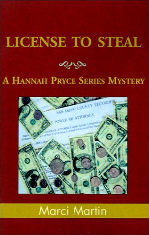 License to Steal (Hannah Pryce Mysteries): Martin, Marci