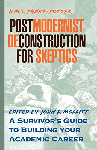 9781401042493: Postmodernist Deconstruction for Skeptics