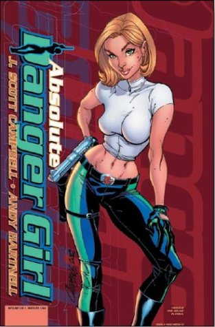 Danger Girl Absolute Edition 2 Volumes Signed: J Scott Campbell