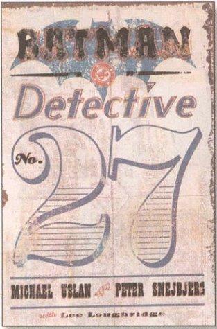 9781401201852: Batman: Detective, No. 27