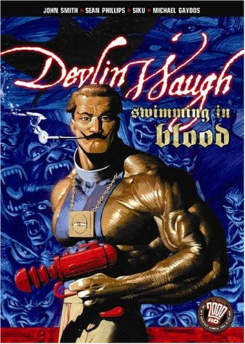 9781401203924: DEVLIN WAUGH SWIMMING IN BLOOD (The Sequel to the Dark Knight Returns)
