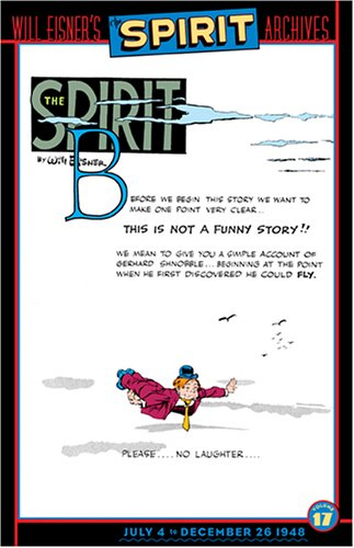 Spirit, The - Achives, Volume 17 (Spirit Archives (Graphic Novels)) (1401204171) by Will Eisner