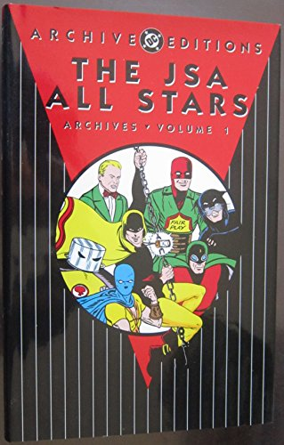 9781401214722: JSA: All Stars Archives - Volume 1 (DC Archive Editions)