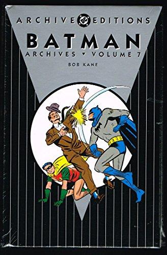 9781401214937: Batman Archives, Vol. 7