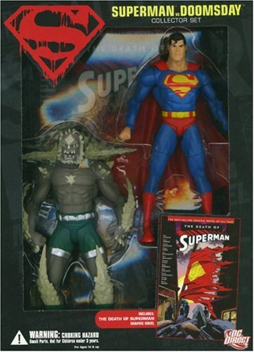 Superman Vs. Doomsday Collector Set