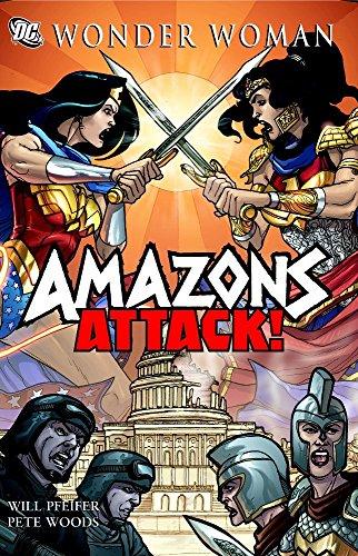 9781401217327: Wonder Woman: Amazons Attack SC