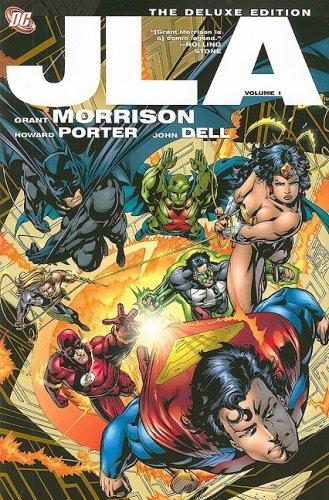 JLA: The Deluxe Edition, Vol. 1: Grant Morrison
