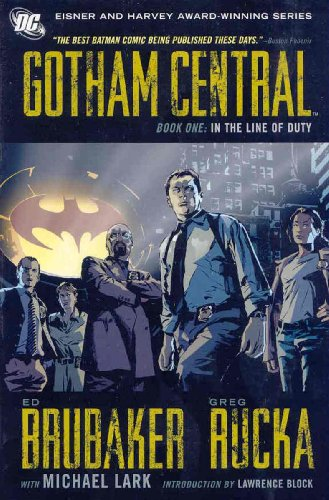 9781401219239: Gotham Central, Book One: In the Line of Duty