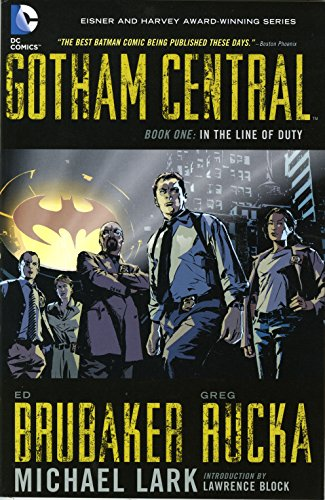 9781401220372: Gotham Central, Book 1: In the Line of Duty