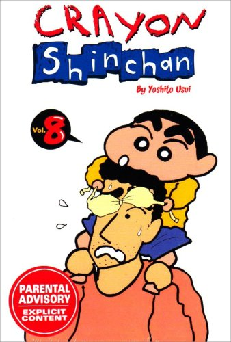 9781401221119: Crayon Shinchan Vol. 8 (Crayon Shinchan - Reissue)