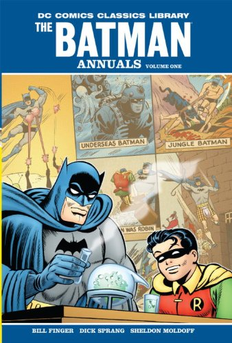 9781401221928: DC Comics Classic Library: Batman - The Annuals Vol. 1